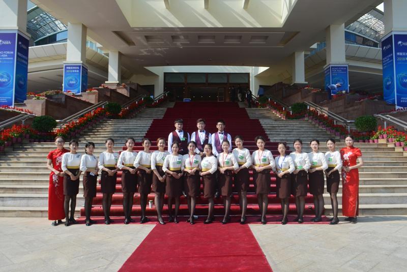 我院22名同学参与博鳌论坛志愿工作——凝聚非凡的历练,收获崭新的蜕变